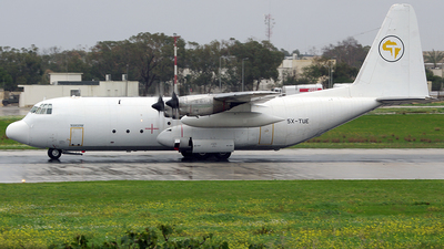 5X-TUE - Lockheed L-100-20 Hercules - Transafrik International