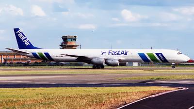 CC-CAX - Douglas DC-8-71(F) - FastAir Cargo