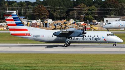A picture of N337EN - De Havilland Canada Dash 8300 - [284] - © JC