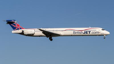 HB-JIB - McDonnell Douglas MD-90-30 - British Jet