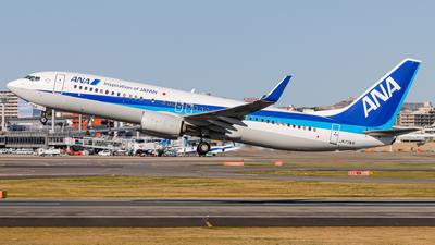 A picture of JA77AN - Boeing 737881 - All Nippon Airways - © Kirifud_2003