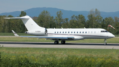 A picture of GCGSJ - Bombardier Global Express - TAG Aviation - © Sybille Petersen