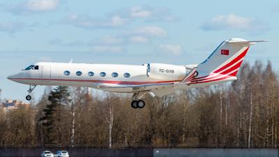 TC-GVB - Gulfstream G-IV - Turkey - Government