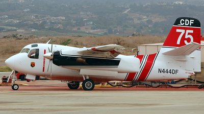 N444DF - Grumman S-2F3AT Turbo Tracker - United States - California Department of Forestry