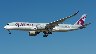 F-WZFF - Airbus A350-941 - Qatar Airways