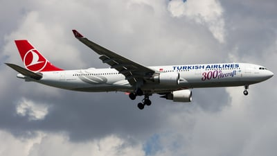 TC-LNC - Airbus A330-303 - Turkish Airlines