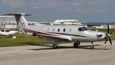 OE-EPC - Pilatus PC-12/45 - Diamond Aircraft Industries