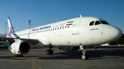 A picture of EPAJH - Airbus A320233 - Meraj Air - © Ali Arsalani