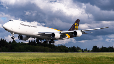 N627UP - Boeing 747-84AF - United Parcel Service (UPS)