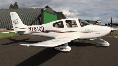 A picture of N781CD - Cirrus SR20 - [1423] - © Ian Johnson