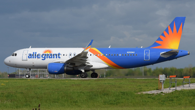 A picture of N255NV - Airbus A320214 - Allegiant Air - © DJ Reed - OPShots Photo Team