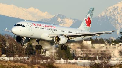 C-FPWE - Airbus A320-211 - Air Canada