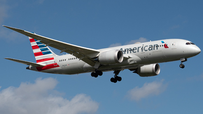 A picture of N802AN - Boeing 7878 Dreamliner - American Airlines - © JTPAviation