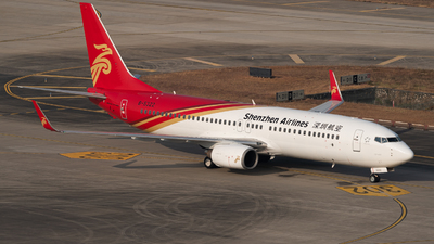 A picture of B5322 - Boeing 73786N - Shenzhen Airlines - © MICHAELWang