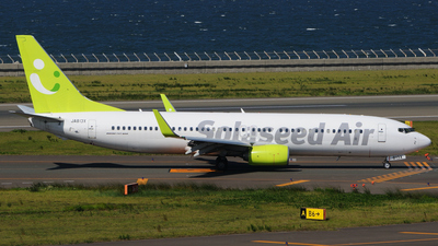A picture of JA813X - Boeing 73786N - Solaseed Air - © Kinmei