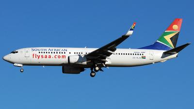 ZS-SJS - Boeing 737-844 - South African Airways