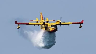 I-DPCR - Canadair CL-415 - Italy - Vigili del Fuoco