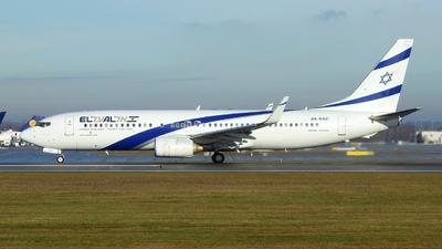 4X-EKC - Boeing 737-858 - El Al Israel Airlines
