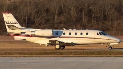 A picture of N646QS - Cessna 560XL Citation Excel - NetJets - © Chris Brault