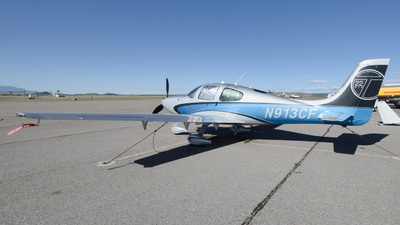 N913CF - Cirrus SR22T-GTS - Private