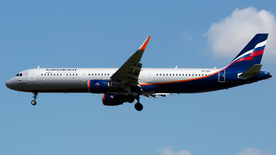 A picture of VPBAE - Airbus A321211 - Aeroflot - © Chris Pitchacaren