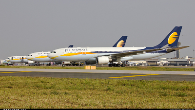 VT-JWM - Airbus A330-202 - Jet Airways