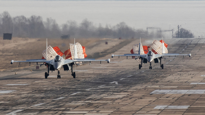 RF-95851 - Sukhoi Su-35S - Russia - Air Force