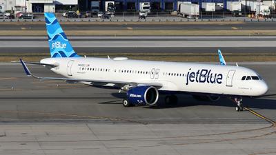 N4022J - Airbus A321-271NX - jetBlue Airways