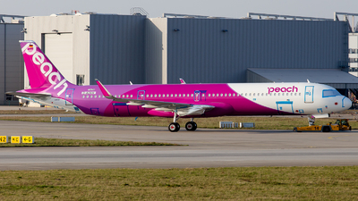 D-AZAW - Airbus A321-251NX - Peach Aviation
