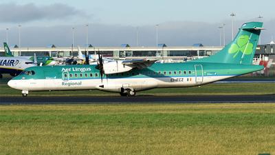A picture of EIFCZ - ATR 72600 - Aer Lingus - © Anna Zvereva