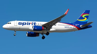 N640NK - Airbus A320-232 - Spirit Airlines