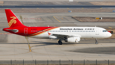 A picture of B6857 - Airbus A320232 - Shenzhen Airlines - © Keanu Chen