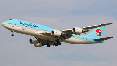 HL7632 - Boeing 747-8B5 - Korean Air