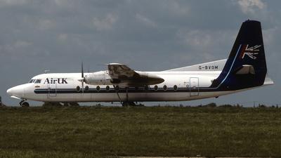 G-BVOM - Fokker F27-500 Friendship - Air UK