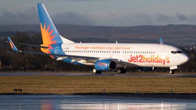 A picture of GJZHN - Boeing 7378MG - Jet2 - © Rolf Jonsen