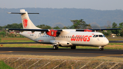 PK-WFO - ATR 72-212A(500) - Wings Air