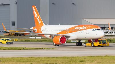 G-UZLF - Airbus A320-251N - easyJet