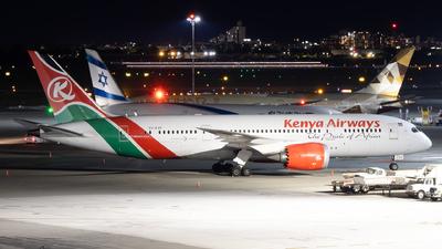 A picture of 5YKZF - Boeing 7878 Dreamliner - Kenya Airways - ©  Sebastian Colaizzi