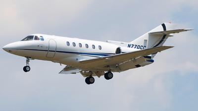 N770CC - Raytheon Hawker 800XP - Private
