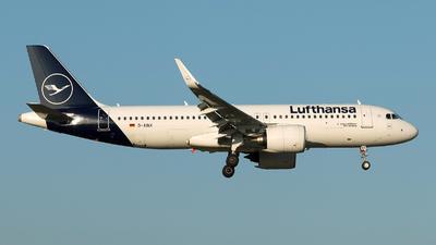 D-AINX - Airbus A320-271N - Lufthansa