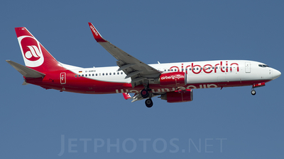 D-ABKQ - Boeing 737-86J - Air Berlin