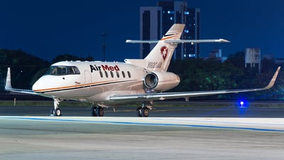 N823AM - Hawker Beechcraft 800XP - AirMed International