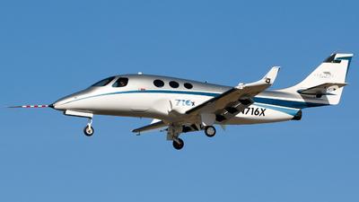 N716X - Stratos 716X - Stratos Aircraft