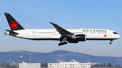 A picture of CFNOG - Boeing 7879 Dreamliner - Air Canada - © Johannes Wirl