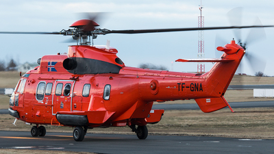 TF-GNA - Aérospatiale AS 332L1 Super Puma - Iceland - Coast Guard