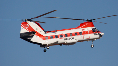 N188CH - Boeing Vertol BV-107 ll - Columbia Helicopters