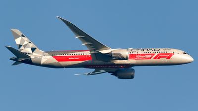 A6-BLV - Boeing 787-9 Dreamliner - Etihad Airways - Flightradar24