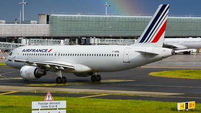 F-HBNL - Airbus A320-214 - Air France