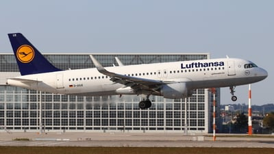 A picture of DAIUX - Airbus A320214 - Lufthansa - © Anto Blazevic