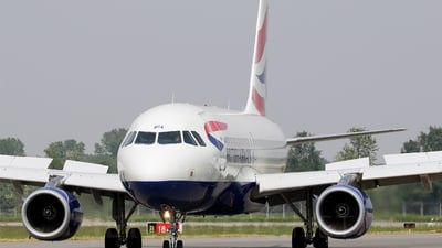 G-DBCA - Airbus A319-131 - British Airways